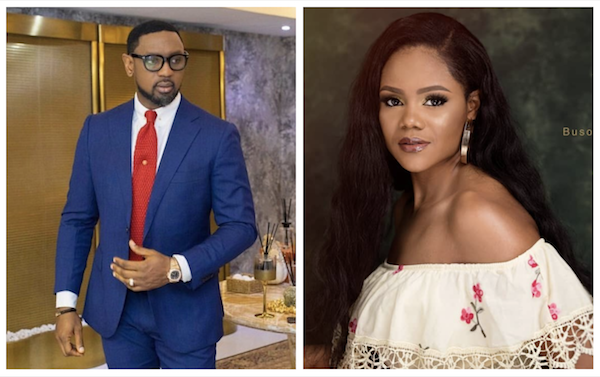 Image result for images of Pastor Fatoyinbo and Busola